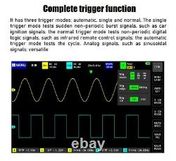 1013D Handheld 2CH Digital Storage Oscilloscope 100MHz Bandwidth 1GS Sample Rat