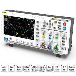 1014D 7Inch Tablet Oscilloscope Digital Storage 1GS/s Sampling Rate White