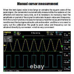1014D 7 2Channel Tablet Oscilloscope Digital Storage Oscilloscope 100MHz