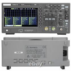 1GSa/s 2CH 7in LCD Digital Storage Oscilloscope 100MHz Bandwidth DSO2C10 HANTEK