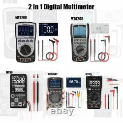 2 In 1 Digital Intelligent Handheld Storage Oscilloscope Multimeter Current Volt