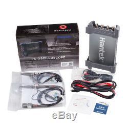 4CH 70Mhz Bandwidth Hantek PC Based USB Digital Storage Oscilloscope 6074BC