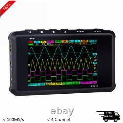 4 Channel 100MS/s MINI Nano DS213 Digital Storage Oscilloscope with Probe