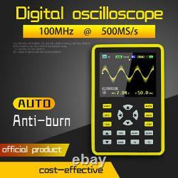 5012H 2.4inch 100MHz Analog Bandwidth Waveform Storage IPS Digital Oscilloscope