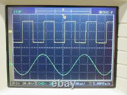 Agilent DSO3102A 100MHz 1GSa/s Digital Storage Oscilloscope with N2865A Module