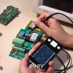 DS211 Digital Oscilloscope 200KHz Professional Storage Ocilloscope Inspection