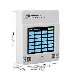 DSO112A 2MHz 5Msps Pocket USB Digital Storage Oscilloscope TFT Touch Screen X1N7