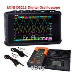 Digital Storage Color Oscilloscope Metal Handheld Scope DSO213 Nano 4 Channel