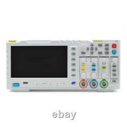 Dual Channel Digital Storage Oscilloscope 100MHz 1GSa/s Signal Generator 7LCD