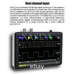 Dual Channel Digital Storage Oscilloscope 100MHz Bandwidth 1GS Sample Rate #TOP