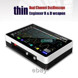 FNIRSI 1013D Ultra-thin 2CH Digital Storage Oscilloscope 100MHz Bandwidth 1GSa/s