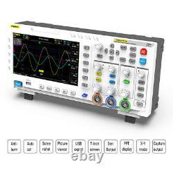 FNIRSI 1014D 2 In 1 7 In Digital Oscilloscope Input Signal Generator 1GB Storage