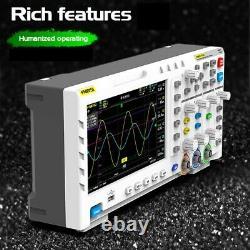 FNIRSI 1014D 7In Digital Oscilloscope TFT LCD Display Dual Channels 1GB Storage
