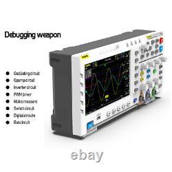 FNIRSI 1014D 7 Digital Oscilloscope 2 Channels 1GB Storage 1GSa/s Sampling Rate