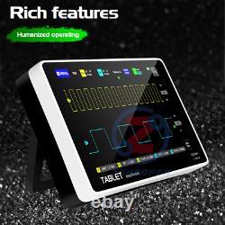 FNIRSI Digital Storage Oscilloscope 1013D 7 inch 2CH 100MHz Bandwidth 1GS