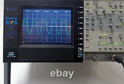 GOULD DATASYS 740 DIGITAL STORAGE OSCILLOSCOPE 150 MHz, 4 CHANNEL With 4 PROBES