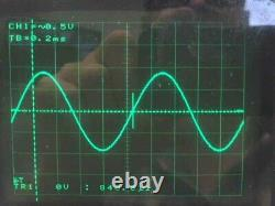 GOULD DSO 465 DIGITAL STORAGE OSCILLOSCOPE 200Ms/sec 100MHz with PRINTER + PROBES