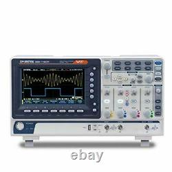 GW Instek Digital Storage Oscilloscope 2Channel 1 GSa/s Maximum Sampling 100MHz