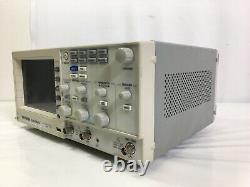 GW Instek GDS-2062 Digital Storage Oscilloscope 60MHz 1G Sa/s 2-Ch #7256