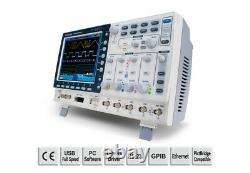 GW Instek GDS-2072A Digital Storage Oscilloscope 70MHz 2 Channel 2GS/s DSO VPO