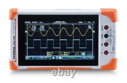 GW Instek GDS-207 Digital Storage Oscilloscope 70MHz DSO 2 Channels 1GS/s DMM