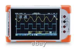 GW Instek GDS-210 Digital Storage Oscilloscope 100MHz DSO 2 Channels 1GS/s DMM