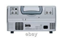 GW Instek MSO-2072E Digital Storage Oscilloscope 2 CH 70MHz 16 CH Logic Analyzer