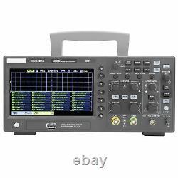 HANTEK DSO2C10 Digital Storage Oscilloscope 100MHz 2CH 1GSa/s Test Equipment New