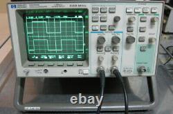 HP 54615B 500MHz 1GSa/s Digital Oscilloscope with54659B Measurement/Storage Module