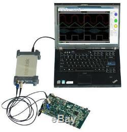 Hantek 6022BE Storage 2CH FFT USB PC Digital Oscilloscope 48MSa/s 20MHz 8 Bit