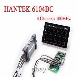 Hantek 6104BC PC USB Based Digital Storage Oscilloscope 4 Channels 100Mhz 1GSa/s