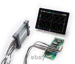 Hantek 6104BD Oscilloscope 100MHz PC USB 4CH Generator 1GSa/s Digital Storage