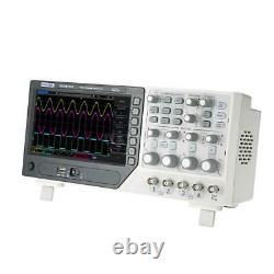 Hantek 80-250MHz Digital Oscilloscope 4CH 1GS/s +64K Digital Storage + EXT + DVM