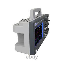 Hantek DSO2D15 7 In TFT Digital Oscilloscope 2CH+1CH Storage Osciloscopio 150MHz
