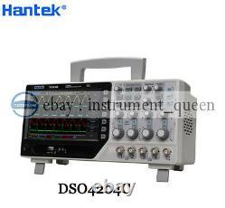 Hantek DSO4204C Digital Storage Oscilloscope 64K 4CH 200MHz+signal source 1GS/s