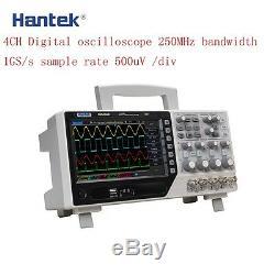 Hantek DSO4254B Digital Storage Oscilloscope 4Channel 64K 250MHz 1GSa/s Real Ti