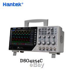 Hantek DSO4254C Digital Storage Oscilloscope 4H 250Mhz 1GS/s EXT DVM USB Host/De