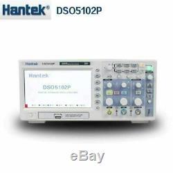 Hantek DSO5102P Digital Oscilloscope USB Storage 100MHz 1GSa/s 40K 2CH 2Chanel