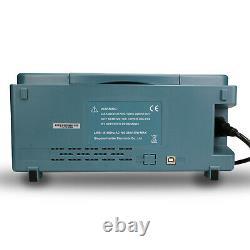 Hantek DSO5202P 200MHz 2 CH 1GSa/s 7'' TFT LCD Digital Storage Oscilloscope New