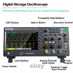 Hantek Digital Storage Oscilloscope 1GSa/S 8M DSO2C10 DSO2C15 DSO2D10 DSO2D15