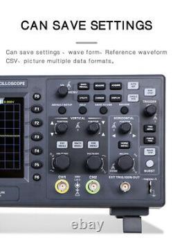 Hantek Oscilloscope DSO2C10 2D10 2 Channel Digital Storage 1Gsa/s + Generater