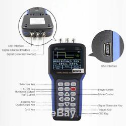 JDS2023 Handheld LCD Digital Storage Oscilloscope Signal Generator 20MHz 200MS/s