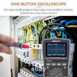 KKmoon Intelligent Digital Storage Scopemeter 2-in-1 Digital 40MHz Oscilloscope