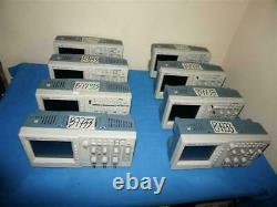 Lot 8pcs Tektronix TDS1002B 60 MHz 1 GS/s 2-CH Digital Storage Oscilloscope SetB