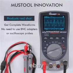 MUSTOOL MDS8207 40MHz 200Msp Digital Storage Oscilloscope Multimeter Scopemeter