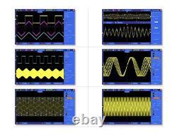 NEW USB Digital Storage Oscilloscope 2 Channels 100MHz 1GSa/s inm 7 TFT LCD