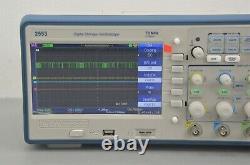 New BK Precision 2553 4 Channel Digital Storage Oscilloscope 70 MHz 2 GSa/s