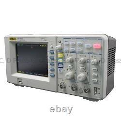 New Rigol DS1052E Digital Oscilloscope 50MHz 1 GSa/S 2 Channels Plus USB Storage