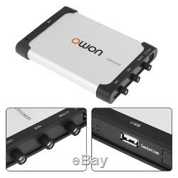 OWON 2 Channel USB Isolation PC Digital Storage Oscilloscope 25MHz 100MSa/s