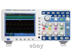 Peaktech P1295 DSO Oscilloscope 100 MHz 4 Channel 1 GS/s Digital Storage